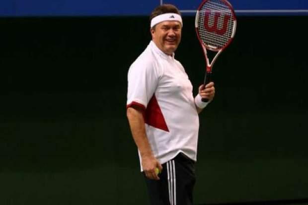 Янукович теніс
