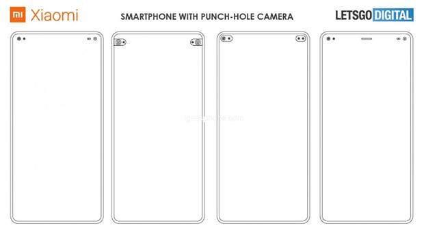 Xiaomi готує смартфон з двома дірками в екрані