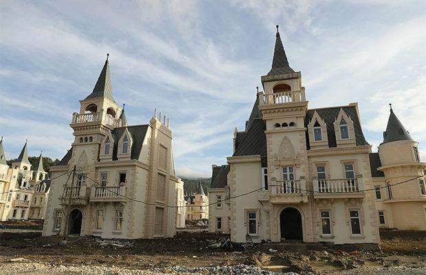 Туреччина замки покинуте село