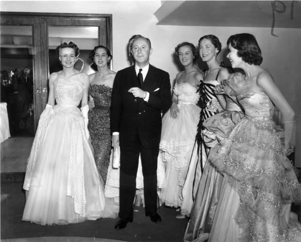 Крістіан Діор історія успіху 1950 рік