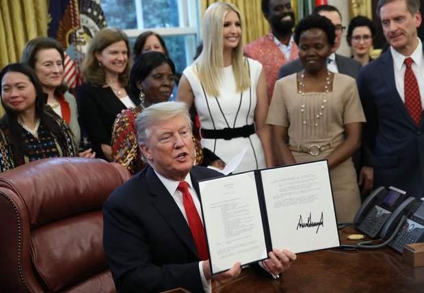 Іванка Трамп у Білому домі