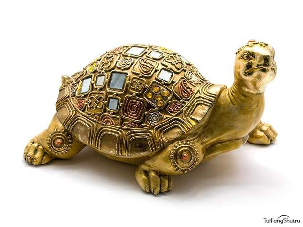Черепаха – грошовий талісман фен-шуй