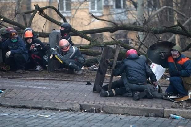 Розстріл на вулиці Інститутській