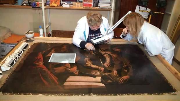 Реставрація картини