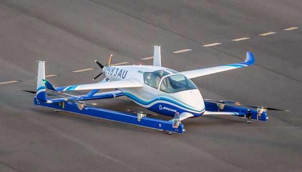 Boeing провів випробування свого літаючого автомобіля