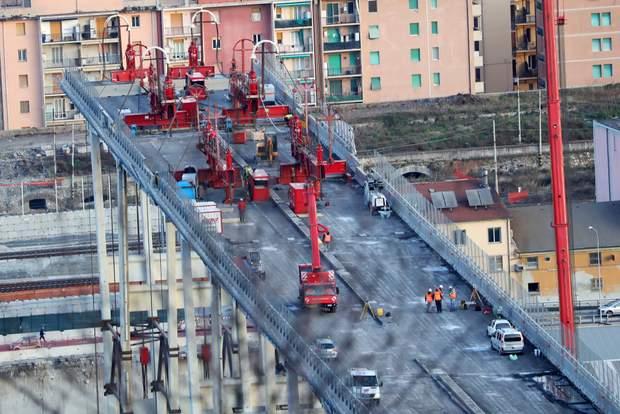 міст Моранді Генуя Італія
