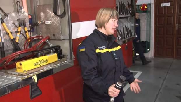 Рятувальниця з Черкас Анастасія Клочко