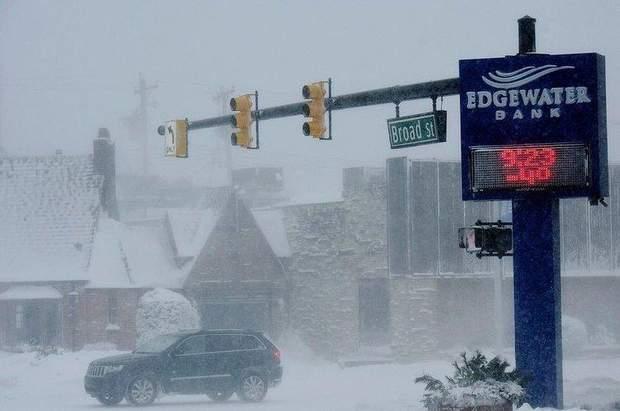 Снігопади у США