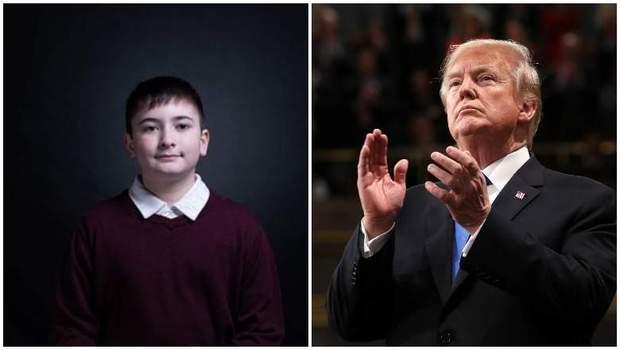 Трамп, Джошуа, промова, сон