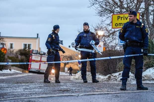Стокгольм, Швеція, вибух