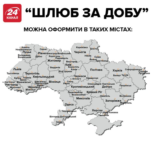 Шлюб за добу Україна одруження