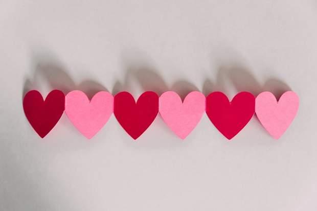 День Валентина гірлянди