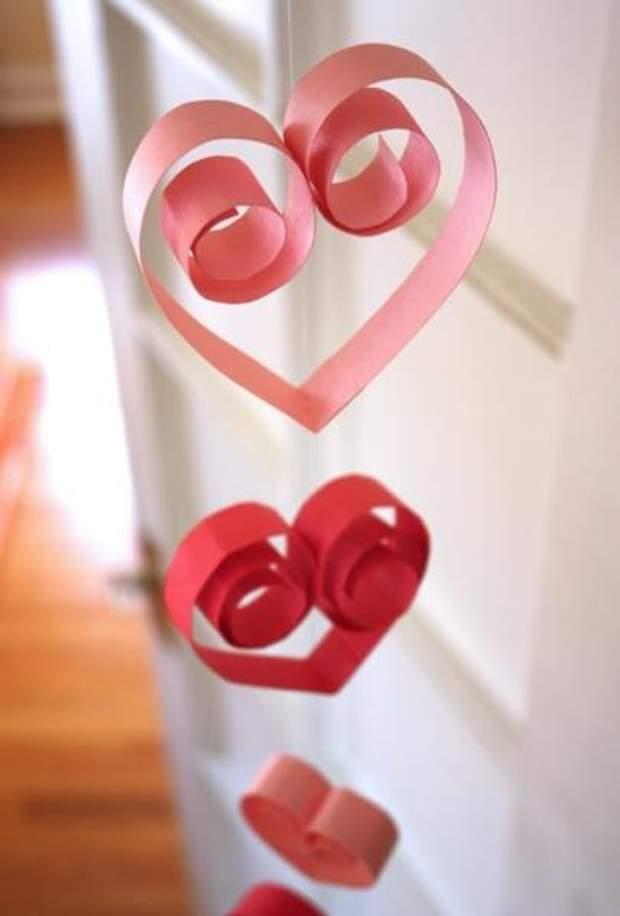 День Валентина декор гірлянди
