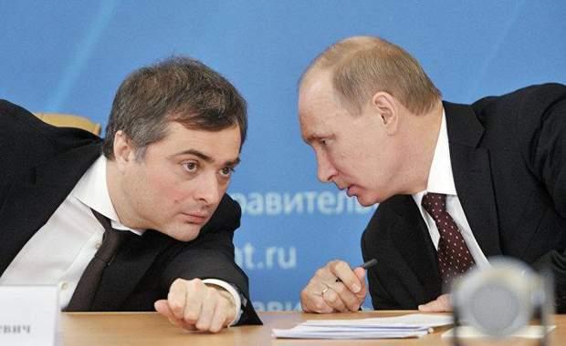 Путин, Сурков