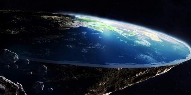 Плоска земля