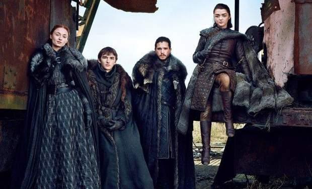 Родина Старків: Санса, Арія, Бран, Джон Сноу