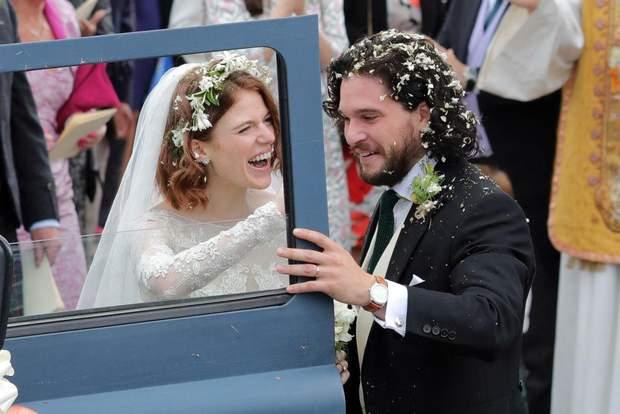 Церемонія одруження Кіта та Леслі пройшла у Шотландії
