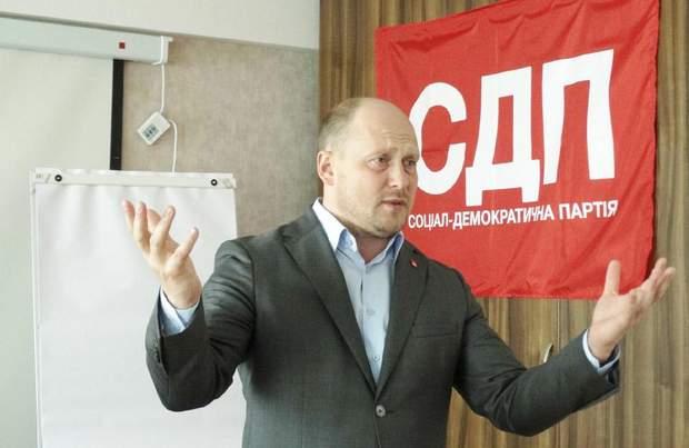Сергій Каплін біографія Соціал-демократична партія