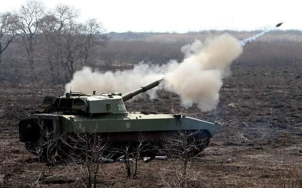 бойова техніка окупований Донбас
