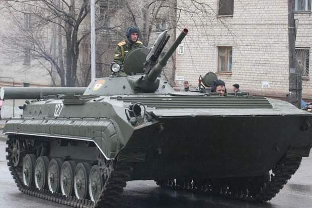 Окупований Донбас техніка