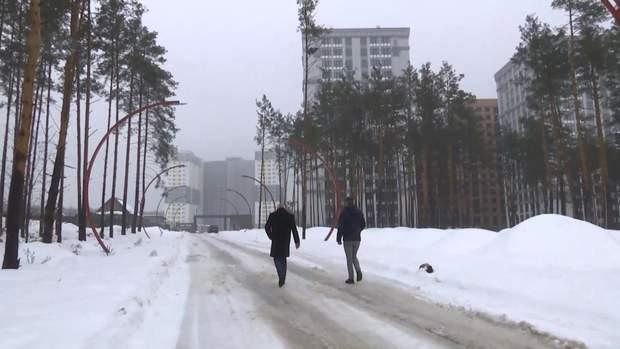 Незаконне будівництво на землях МВС