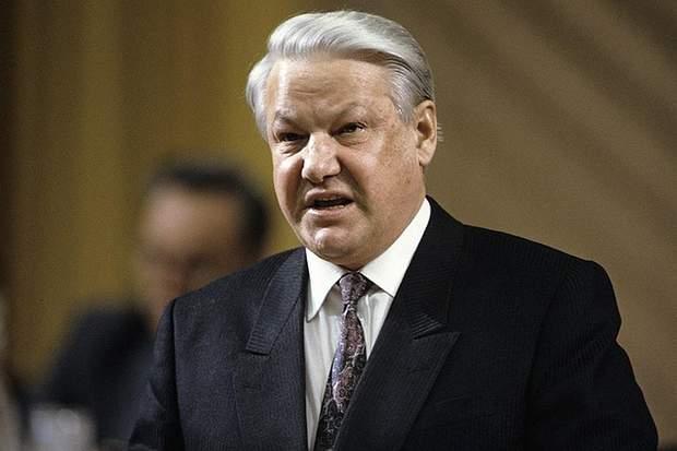 Перший президент РФ Борис Єльцин