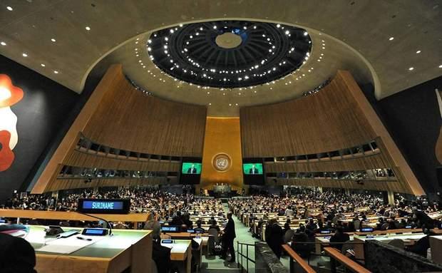 Генасамблея ООН уклала резолюцію у підтримку територіальної цілісності України