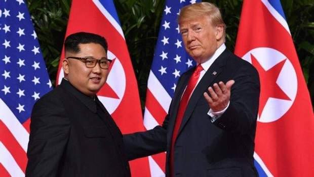 Кім Чен Ин Дональд Трамп