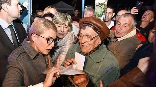 Тимошенко намагається зблизитись з народом
