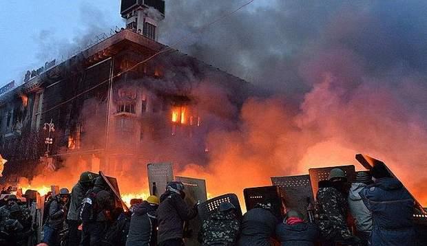 Будинок профспілок київ майдан 18 лютого