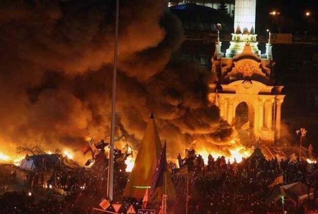 Майдан 18 лютого Беркут