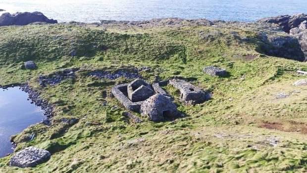 острів Ірландія руїни монастир