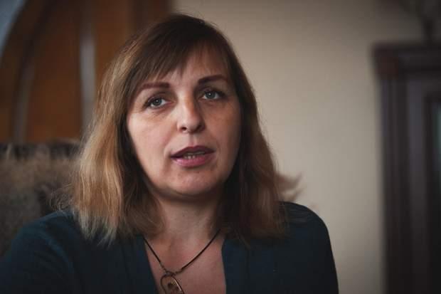 Вдова Героя Небесної сотні Марія Ткачук