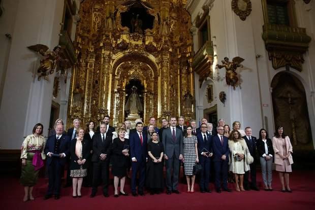 Урочиста церемонія за участю королівської сім'ї Іспанії