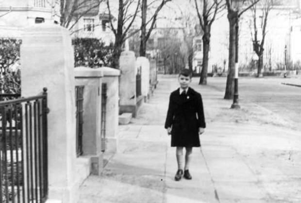 Карл Лагерфельд в дитинстві