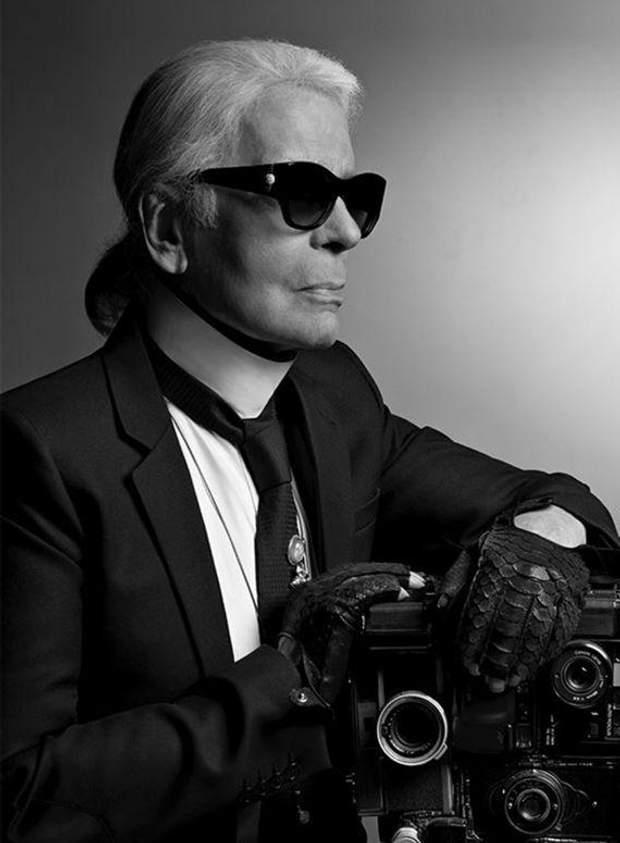 Карл Лагерфельд – фотограф