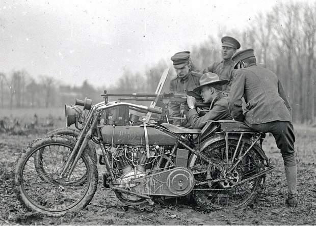 Harley-Davidson у часи Першої світової війни
