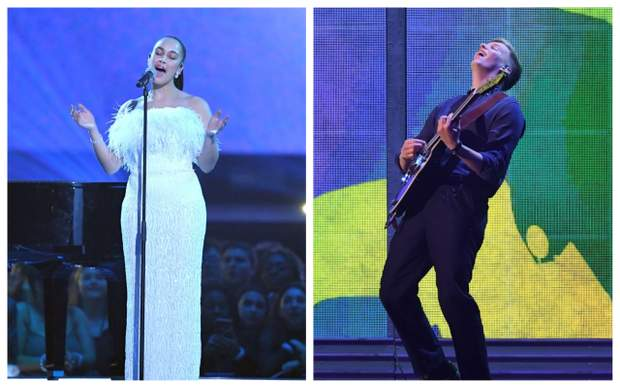 Джорджа Сміт Джордж Езра Brit Awards