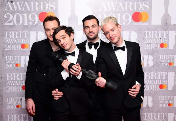The 1975 Brit Awards