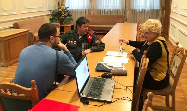Юрій Тимошенко в ЦВК