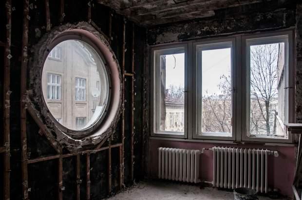вікно ілюмінатор львів архітектура модернізм