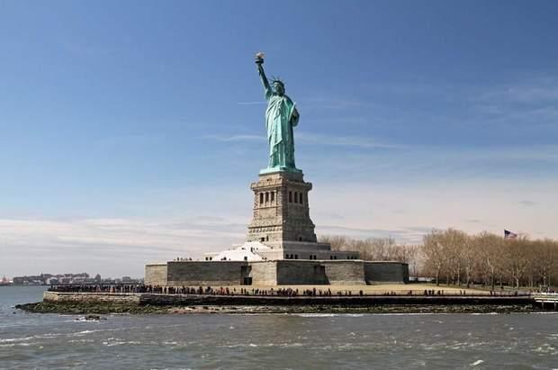Статуя свободи пам'ятки сша сша