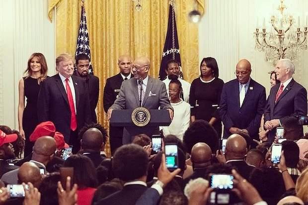 Меланія Трамп у Білому домі