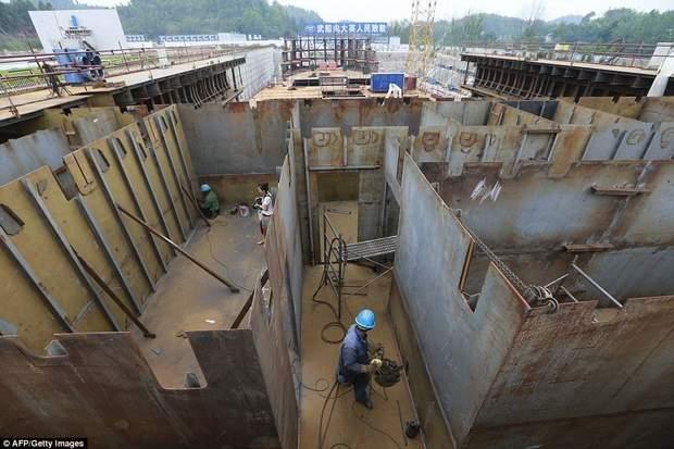 фото будівництво Титанік Китай копія