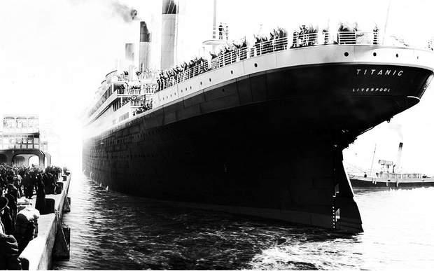 Титанік фото корабель пасажирський лайнер