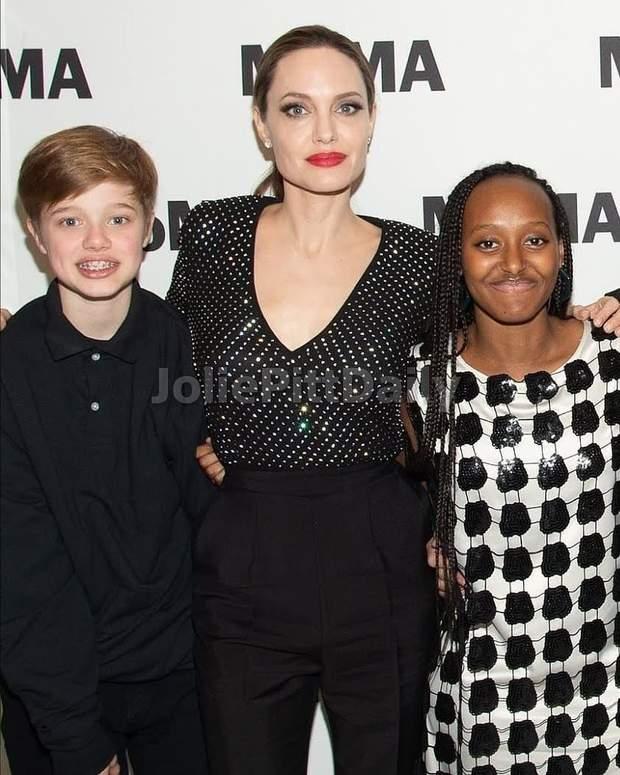 Анджеліна Джолі з дочками