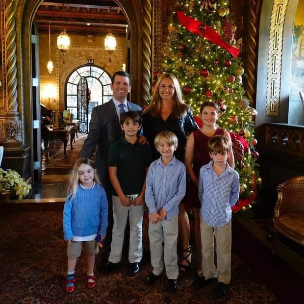 Дональд Трамп-молодший і його сім'я