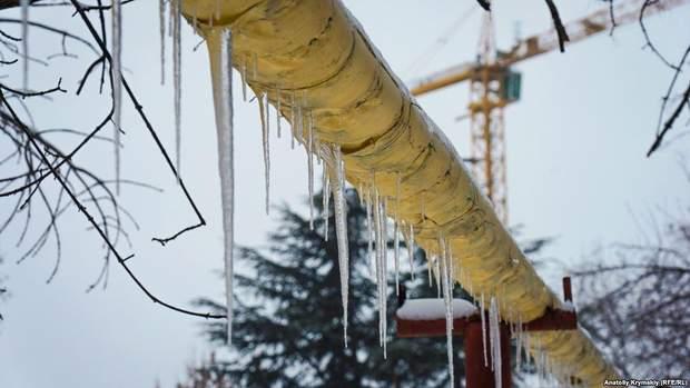сніг Сімферополь Крим похолодання