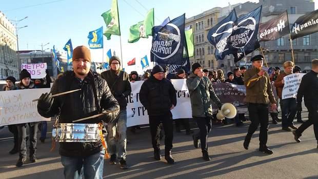 Мітинг у Харкові через транспортний скандал