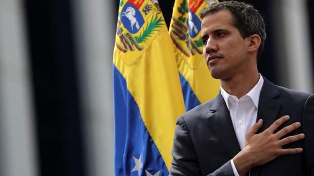 Тимчасовий президент Венесуели Хуан Гуайдо